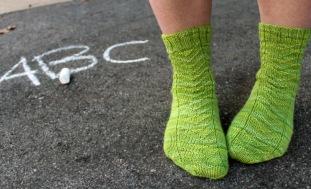 School Pick Up Line Socks